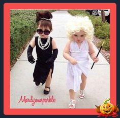 Wee Audry and Marilyn