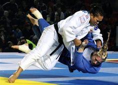 "Judo. ""The Gentle Way"". #defense #judo Visit http://www.budospace.com/category/judo/ for discount Judo supplies!"