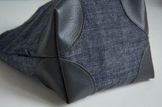 Coudre des coins de sac pour renforcer un ouvrage. Tuto couture
