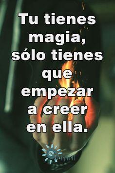 La magia en ti.