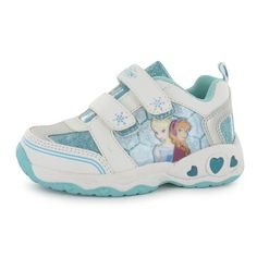 Girls Licensed Disney Frozen Light Up Trainers Frozen Outfits, Frozen Clothes, Kid Shoes, Girls Shoes, Light Up Trainers, Sport Outfits, Girl Outfits, Cute Baby Shoes, Childrens Shoes