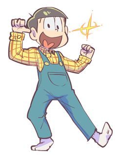 look at this happy overalls boy