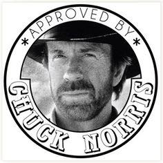 Tampon Chuck Norris #tampon #chucknorris #geek