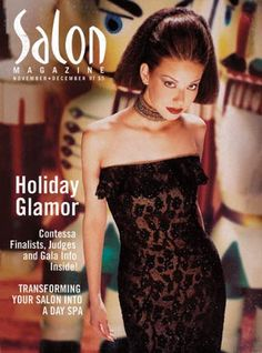 Salon Magazine Celebrates 20 Years -- Here's what our covers used to look like  -- See more on www.salonmagazine.ca #hairdressers #hairstylists #salons #beauty #pros