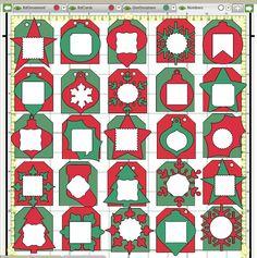 Tamra's Crafty Paper Creations: Christmas Advent Calendar | CTMH ...