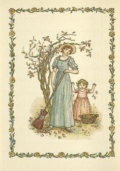 November - Kate Greenaway's Almanack for 1897