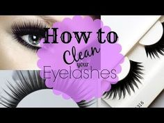 How to: clean false eyelashes to re-use - #falselashes #eyelashes #eyemakeup…