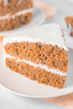 Absolute perfection! This skinny carrot cake doesn't taste healthy at all! My family swears by it -- you'll never need another recipe again!