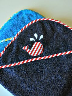 Larissa Another Day: Hooded Baby Towel: Tutorial