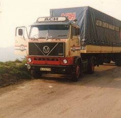 Volvo F 89 Truck Volvo Cars, Volvo Trucks, Classic Trucks, Classic Cars, Old Wagons, Tow Truck, Vintage Trucks, Cars And Motorcycles, Transportation