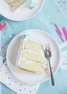 Best Buttermilk Birthday Cake | Sweetapolita