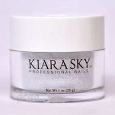 Kiara Sky Dip Powder Sterling D489. Get stronger, lightweight and natural long-lasting nails with our easy-to-use dip powders and dip essentials that don't damage the nail bed. Formulated without harsh chemicals and with added vitamins and calcium to strengthen natural nails.