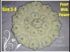 Beautiful pearl flower off white dress for three number Laddu gopal Ji Crochet Stitches, Crochet Patterns, Laddu Gopal Dresses, Bal Gopal, Ladoo Gopal, Woolen Dresses, Crocheted Flowers, Off White Dresses, Pearl Dress