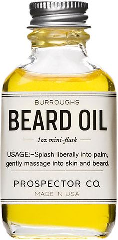 We Adore: The Burroughs Beard Oil from Prospector Co. at Barneys New York