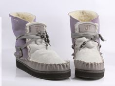 Lavender and grey. Color Combos, Suede Leather, Lavender, Pure Products, Grey, Boots, Fashion, Colour Combinations, Ash