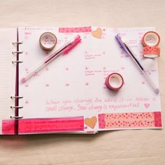 Filofax Clipbook Planner and Bullet Journal Set-Up Month To View