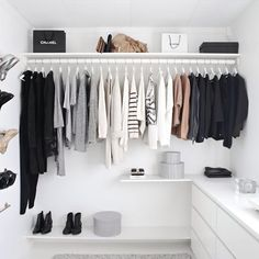 Big move this weekend - endless sorting to be done  this wardrobe is totally perfect @stylizimoblog  x #wardrobe #styling #interiors #renovation #bigmove #declutter xx #Padgram