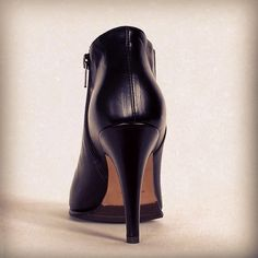heel ankle boots from fw15/15 collection #lenamilos #brand #calature #moda #womenfashion #fashion #black #highheels #heels #style