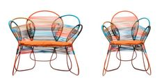 Trame outdoor seating by Federica capitano of Kenneth Cobonpue http://www.archipanic.com/intertwined-outdoor/ Courtesy of Kenneth Cobonpue
