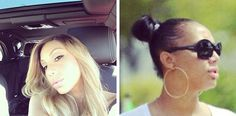 Tamar Braxton Shows Off Her Own Hair And Edges On Instagram Read the article here - http://www.blackhairinformation.com/growth/hair-problems/tamar-braxton-shows-hair-edges-instagram/