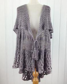 Picture of East Hampton Vintage Cape Crochet Pattern