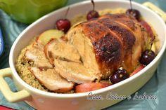 Casa, Coisas e Sabores: Receitas de Natal: peito de peru assado com alho e alecrim