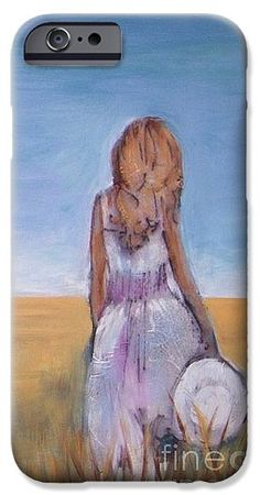 Girl In Wheat Field IPhone 6s Case for Sale by Vesna Antic