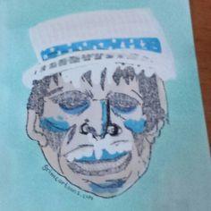 That time Frankie was the Cold Miser. #grimcartoons #frankieoftheday #frankie #Frankenstein #coldmiser #ayearwithoutasantaclaus #sketch