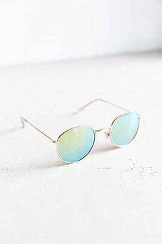 1a63523ff4 Dyllon Metal Round Sunglasses Gafas De Sol, Lentes, Cosas Para Comprar,  Tienda De