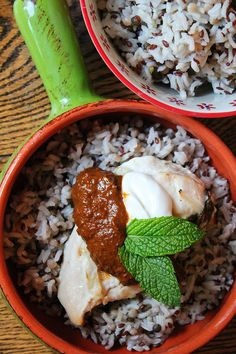 Yogurt Marinated Chicken with Harissa and RiceSelect™ Royal Blend ...