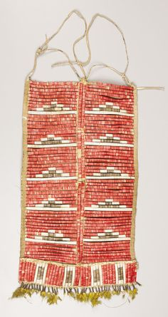 A SIOUX MAN'S QUILLED HIDE BREASTPLATE. c. 1915. ... (Total:   Lot #77145   Heritage Auctions