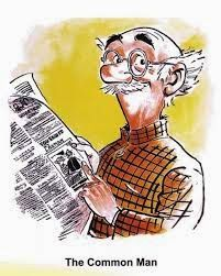 Aksharadhool: An Obituary- Common man's voice lost forever R.K.Laxman died yesterday at a ripe age of 94. For lay people like me, his cartoons were much more than something you casually laugh at. They were expressions of our combined anger against all irritants that we faced in our lives.  Thank you R.K. You made our lives a little bit easier to live. May your soul rest in peace.