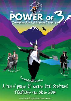 Family Fun 'Open Air Theatre' Triptic Front Cover