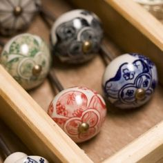nungwi ceramic cabinet knobs from Ceramic Knobs For Kitchen Cabinets Paint Door Knobs, Ceramic Door Knobs, Knobs And Knockers, Knobs And Pulls, Door Pulls, Furniture Knobs, Painted Furniture, Indian Ceramics, Butterfly Room