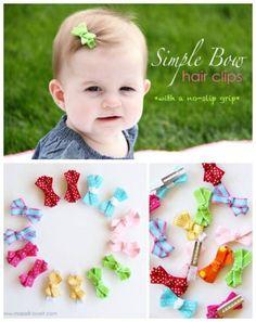 hairbow, girl hair, craft, diy hair, diy ribbon hair bows for girls, hair clips, baby bows, baby hair bows, make bows