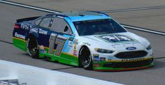 Ricky Stenhouse Jr's 2017 Fifth Third Bank Darlington Throwback Ford - Photo by Alan Wiltsie Nascar Race Cars, Old Race Cars, Ricky Stenhouse Jr, Paint Schemes, Third, Vehicles, Paint Color Schemes, Car, Vehicle