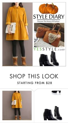 """YesStyle - 10% off coupon"" by shambala-379 ❤ liked on Polyvore featuring Fancy Show, yesstyle and prefall"