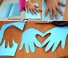 Hand love letter