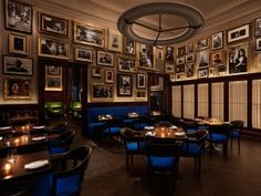 The Blue Room at The EDITION Hotel NYC.