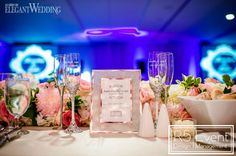 Hundreds of roses provided a grand flower backdrop for the bride and groom, crawling vines poured over tables and even the cake featured. Wedding Blog, Wedding Styles, Wedding Decorations, Table Decorations, Event Company, Flower Backdrop, Elegant Wedding, Gold Wedding, Bat Mitzvah