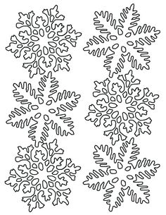 Winter Snowflake Coloring Pages Snowflake Coloring Pages, Snowman Coloring Pages, Christmas Coloring Pages, Coloring Book Pages, Snowflake Cutouts, Simple Snowflake, Colorful Christmas Tree, Christmas Colors, Coloring Pages For Teenagers