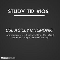 The sillier the better! The sillier the better! Exam Study Tips, Exams Tips, School Study Tips, Study Skills, Study Hacks, School Tips, Study Motivation Quotes, Study Quotes, School Motivation
