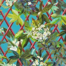 Papier peint - Christian Lacroix - Canopy - Turquoise