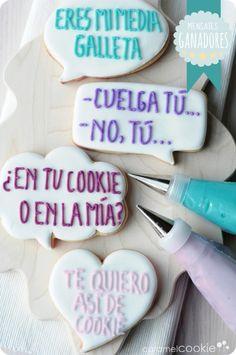 """Caramel Cookie - Ganadores del concurso Especial San Valentín: """"No te quedes en blanco"""""""