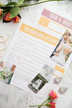 If You Re Going Super Traditional Or Having An Offbeat Wedding This 30 Page Planning Printable Set Will Help Remember The Little Things And