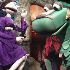 """Teatro con Titeres """"La Princesa y el Dragon"""""""