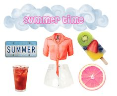 """summer time"" by emilyrose-4 ❤ liked on Polyvore featuring River Island"