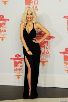 Rita Ora in Calvin Klein