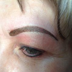 Hair Stroke Brows @ Just Because Ink Just Because, Permanent Makeup, Brows, Ink, Hair, Eyebrows, India Ink, Eye Brows, Brow