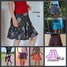 Free pattern for a pretty skirt - should be suitable for a beginner (I hope....)